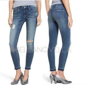 VIGOSS Jagger Skinny Jeans w/ Released Hem sz 28